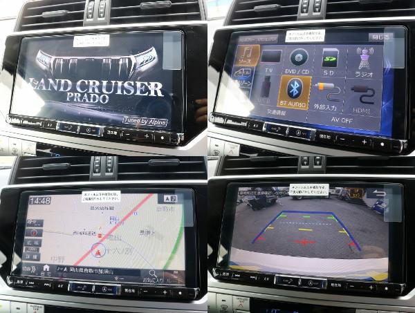 BIGX9インチフルセグ地デジ対応ナビがついているので大きく見やすいナビで快適なドライブを!!