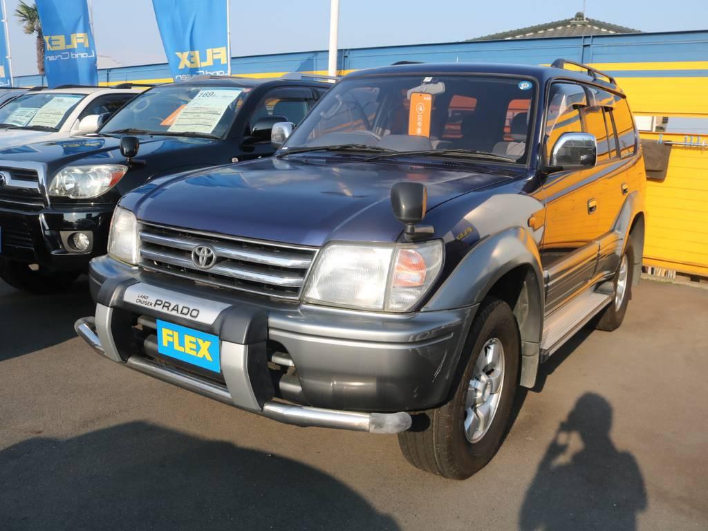| トヨタ ランドクルーザープラド 3.0 TX ディーゼルターボ 4WD TX