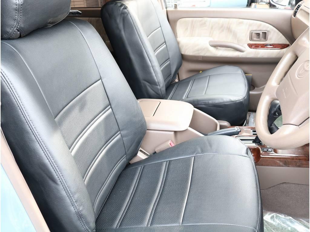 新品シートカバーでインテリアも清潔さが増しております。