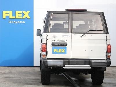 フレックスでは20年前の車輛に関しましてもフレックス保証をご用意させて頂いております。内容としましては、新車ディーラー保証に匹敵する内容となっております。詳しくはお尋ねくださいませ。