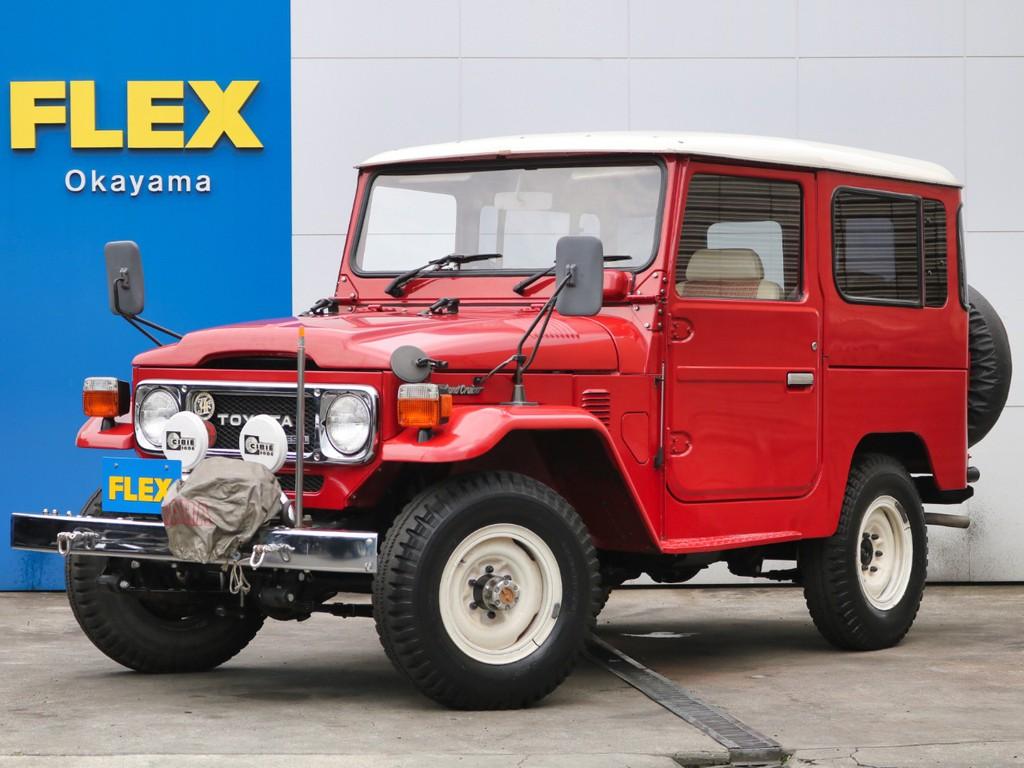 ランクル40 ワンオーナー車輛 低走行車輛 ユーザー買取直販