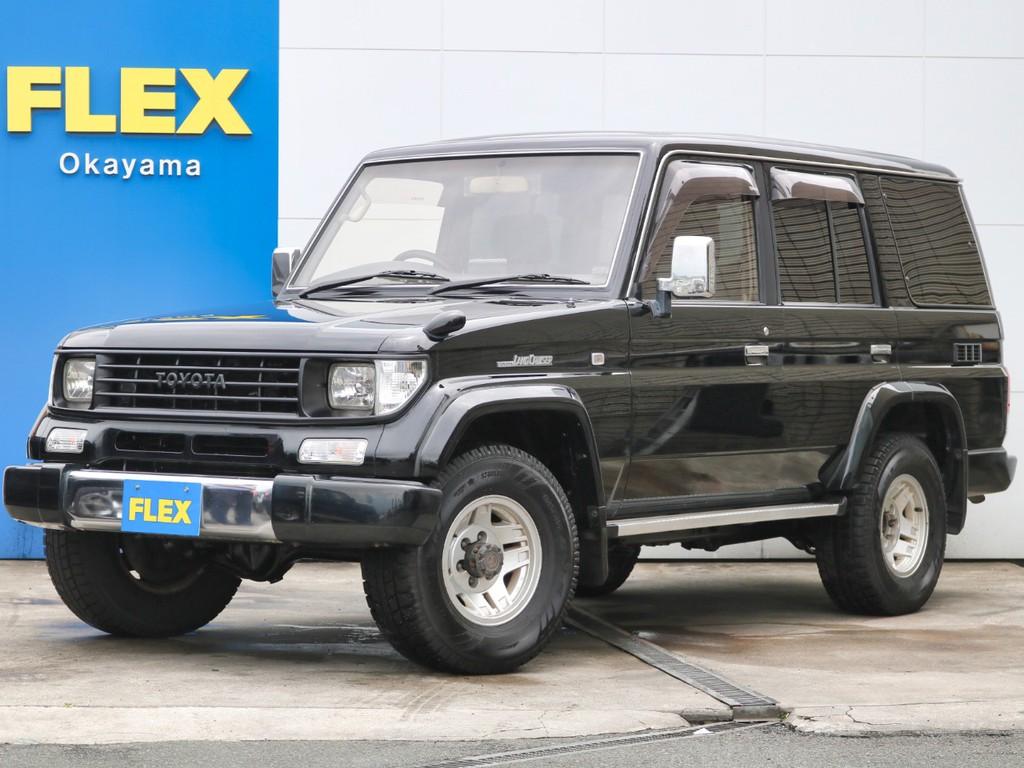 後期型78プラド オールペイント×ブラック 上級グレードEX ユーザー買取直販