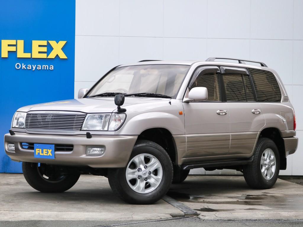 ランクル100 ユーザー買取直販 ノーマルコンディション車輛