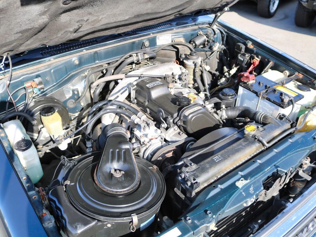 1KZ3.0Lディーゼルターボエンジンです!タフネスな相棒です!