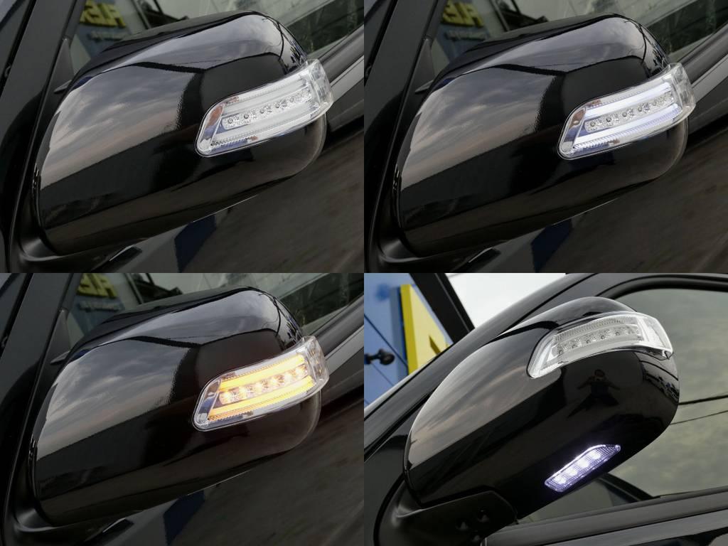 贅沢にウィンカーミラーはヴァレンティ製をセット!! | トヨタ ハイエース 2.7 GL ロング ミドルルーフ