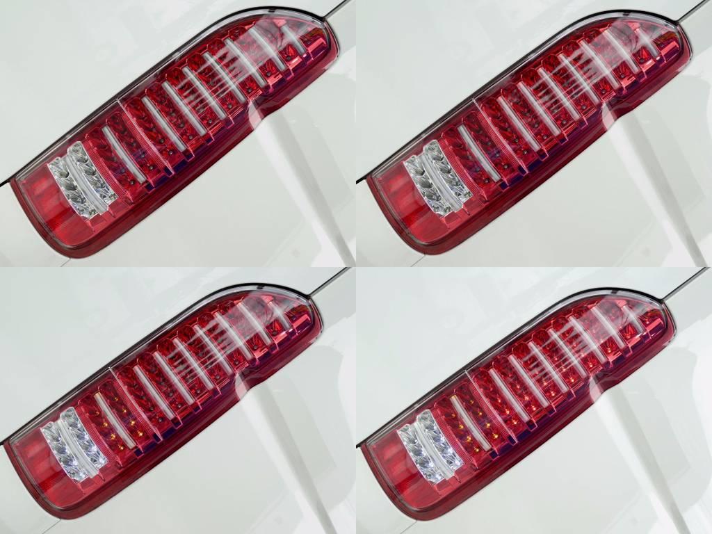 LEDチューブテールは見る者を魅了します!! | トヨタ ハイエース 2.7 GL ロング ミドルルーフ 4WD コーストライン