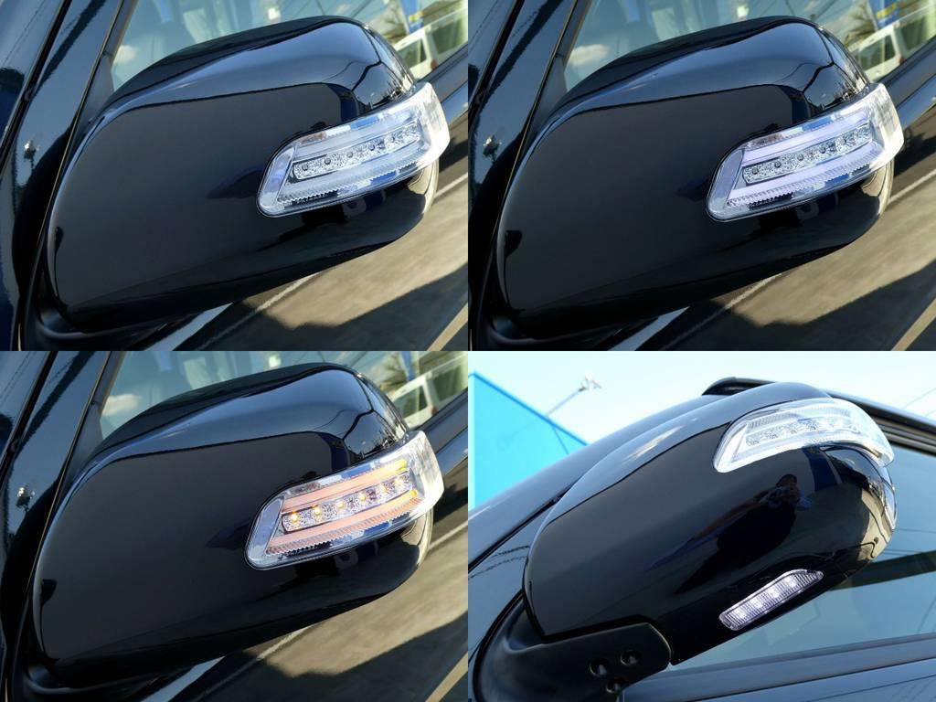 贅沢にウインカーミラーはバレンティ製をインストール!!コーナーミラーも同色ペイント済み!! | トヨタ ハイエース 2.7 GL ロング ミドルルーフ 4WD ファインテックツアラー