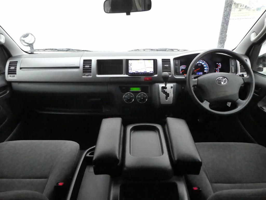 インテリアの状態も上質です!!   トヨタ ハイエース 2.7 GL ロング ミドルルーフ FFヒーター 1500W