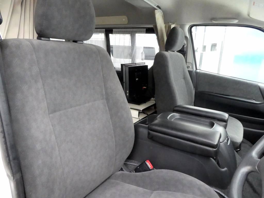 シートの状態も良質ですよ!!   トヨタ ハイエース 2.7 GL ロング ミドルルーフ FFヒーター 1500W