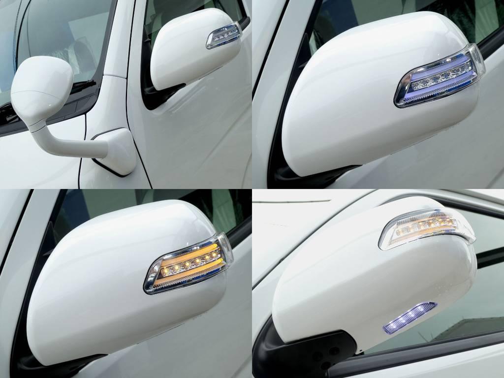 贅沢にヴァレンティ製ウィンカーミラーをインストール!! | トヨタ ハイエース 2.7 GL ロング ミドルルーフ 4WD 新型TSS付き トリプルナビspl