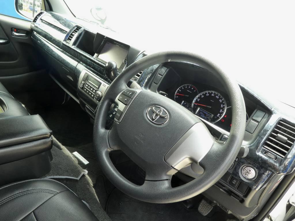 インテリアの状態も良好です!!   トヨタ ハイエース 2.7 GL ロング ミドルルーフ VER2