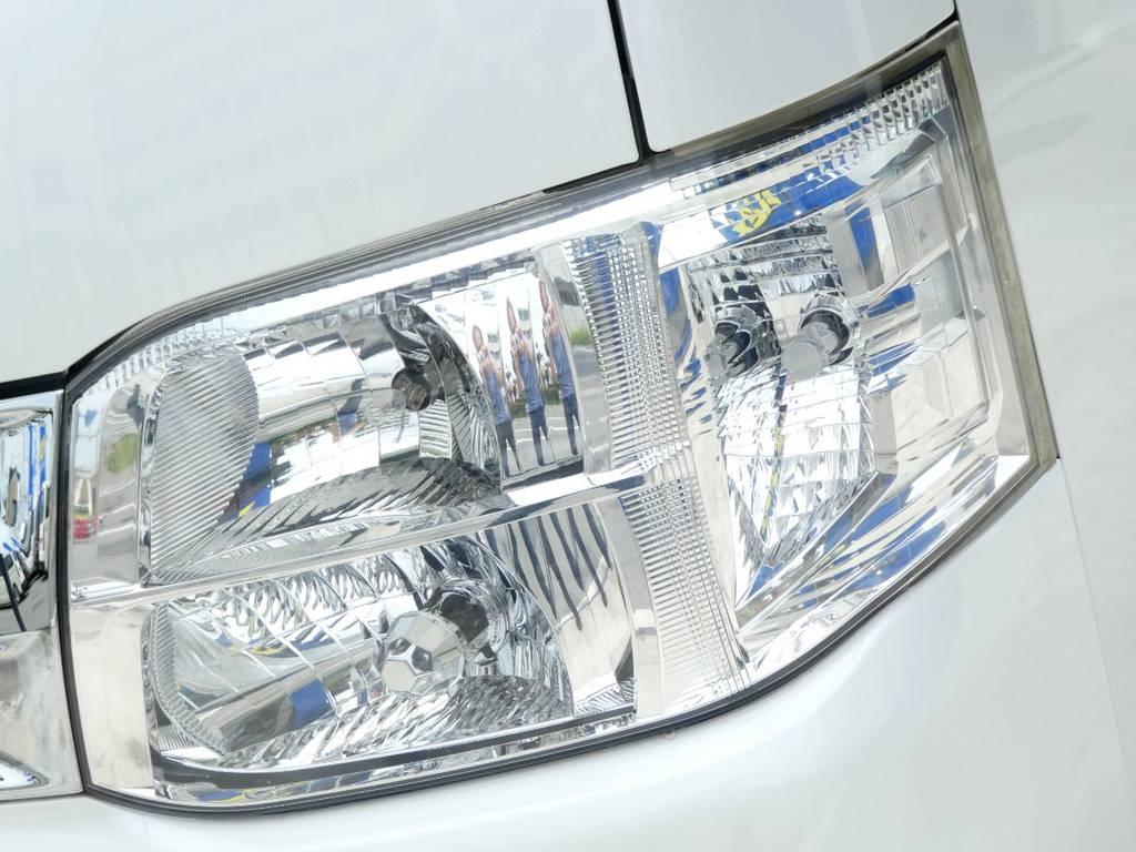 HIDヘッドライト完備!! | トヨタ ハイエースバン 2.0 スーパーGL ロング ツインナビカスタム