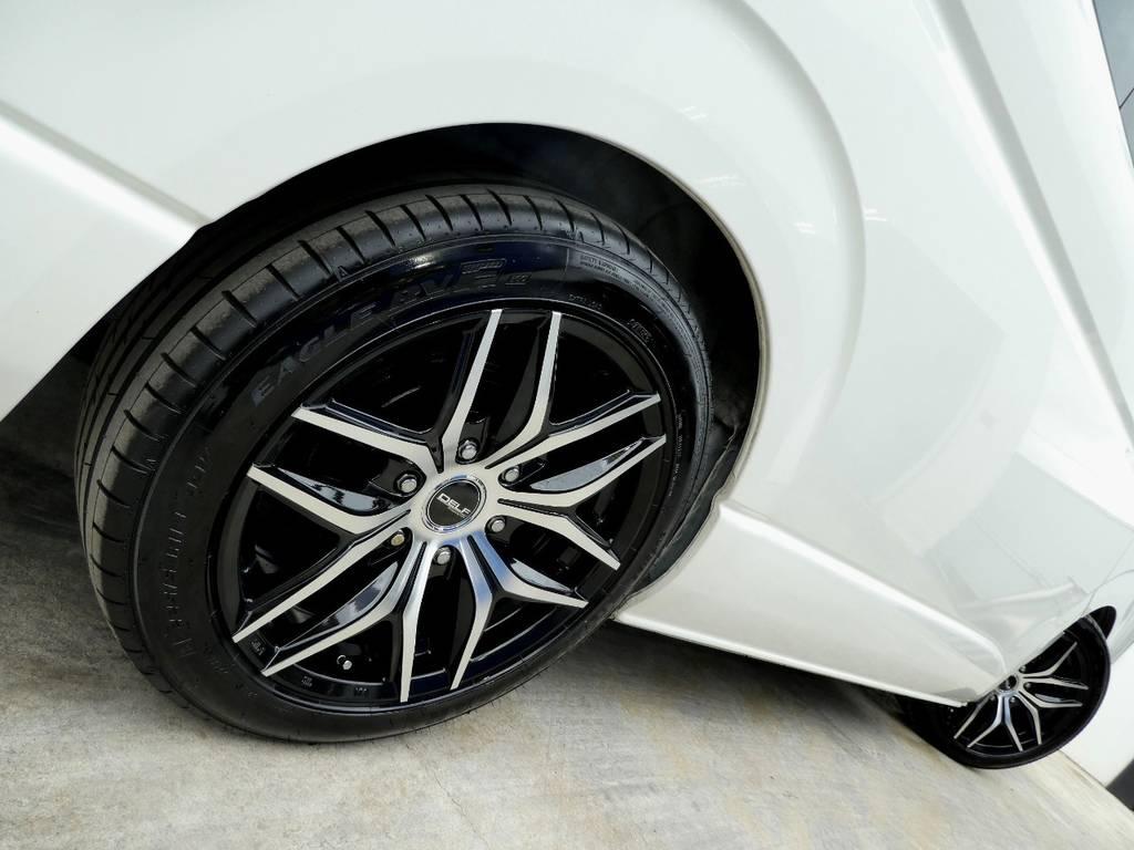 サイドラインを美しく彩るアルミフェイス!! | トヨタ ハイエース 2.7 GL ロング ミドルルーフ