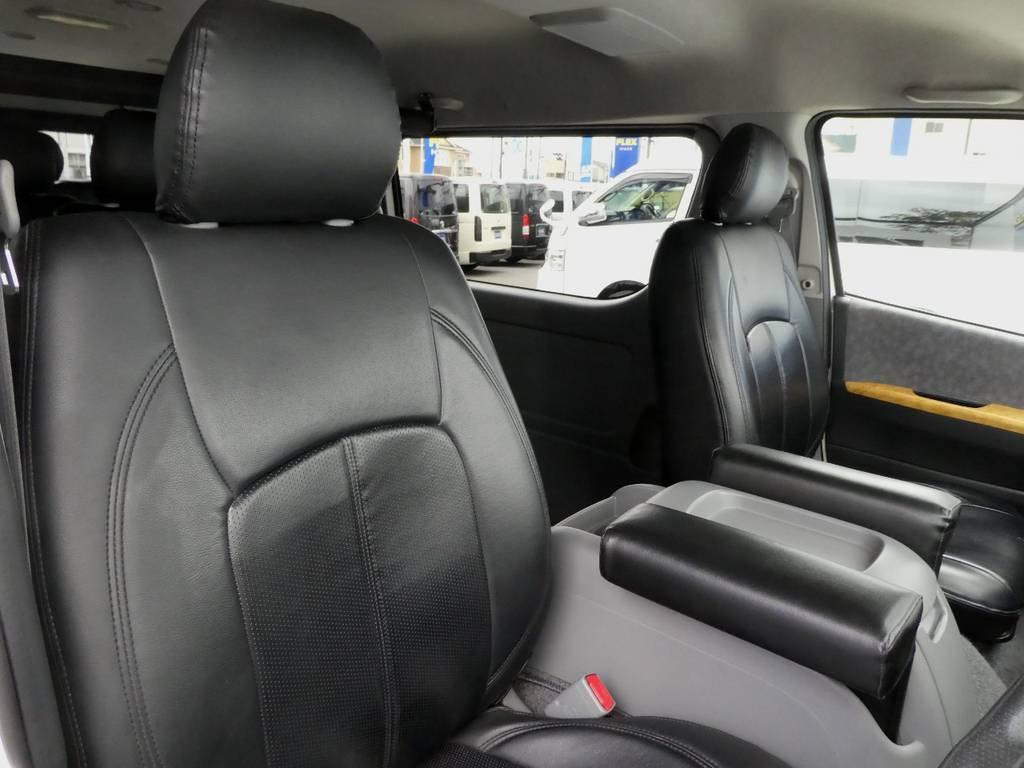 専用シートカバー配備!! | トヨタ ハイエース 2.7 GL ロング ミドルルーフ