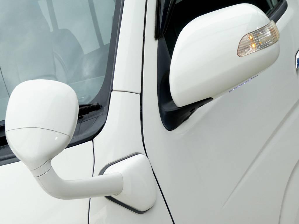 フロントアンダーミラー同色塗装 ウィンカーミラー完備!! | トヨタ ハイエース 2.7 GL ロング ミドルルーフ