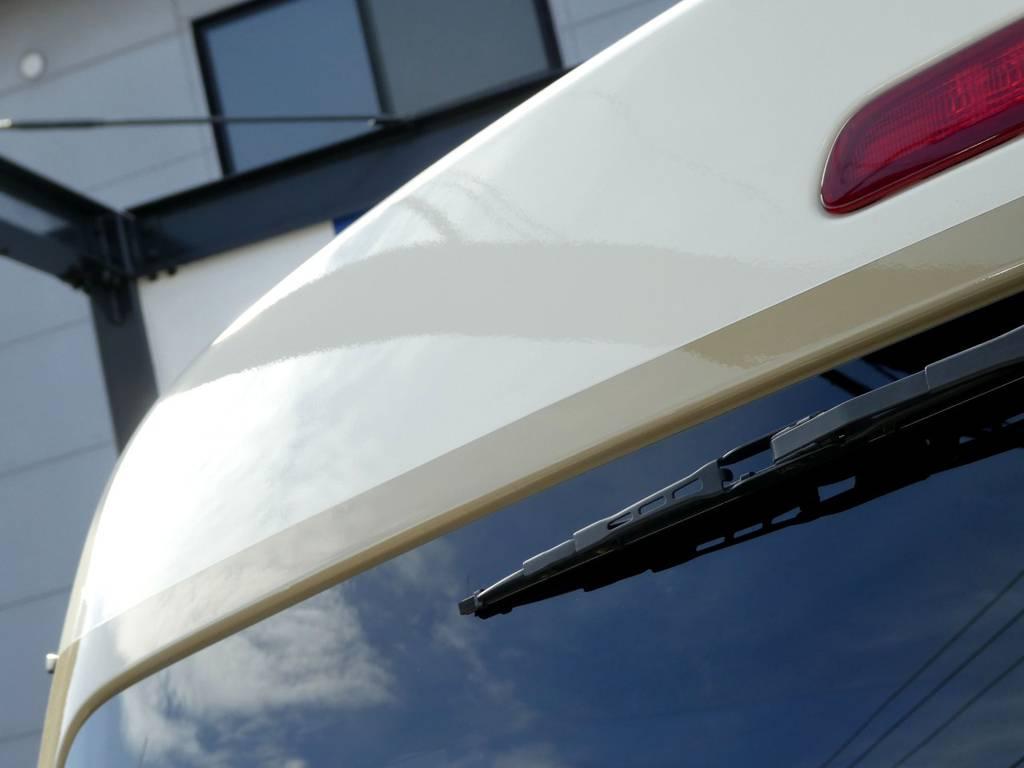背面ミラーはスムージング加工!! | トヨタ ハイエース 2.7 GL ロング ミドルルーフ Coast Lines Newペイント