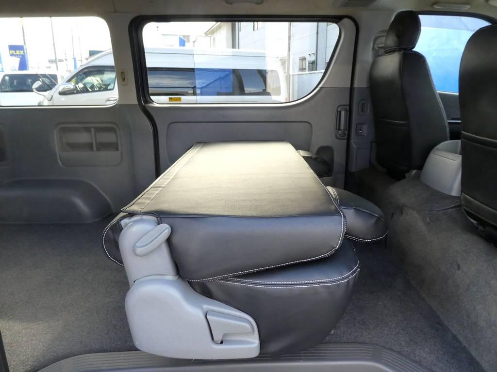 シートアレンジは女性の方でもラクラクです!! | トヨタ レジアスエース 3.0 スーパーGL ロングボディ ディーゼルターボ 4WD