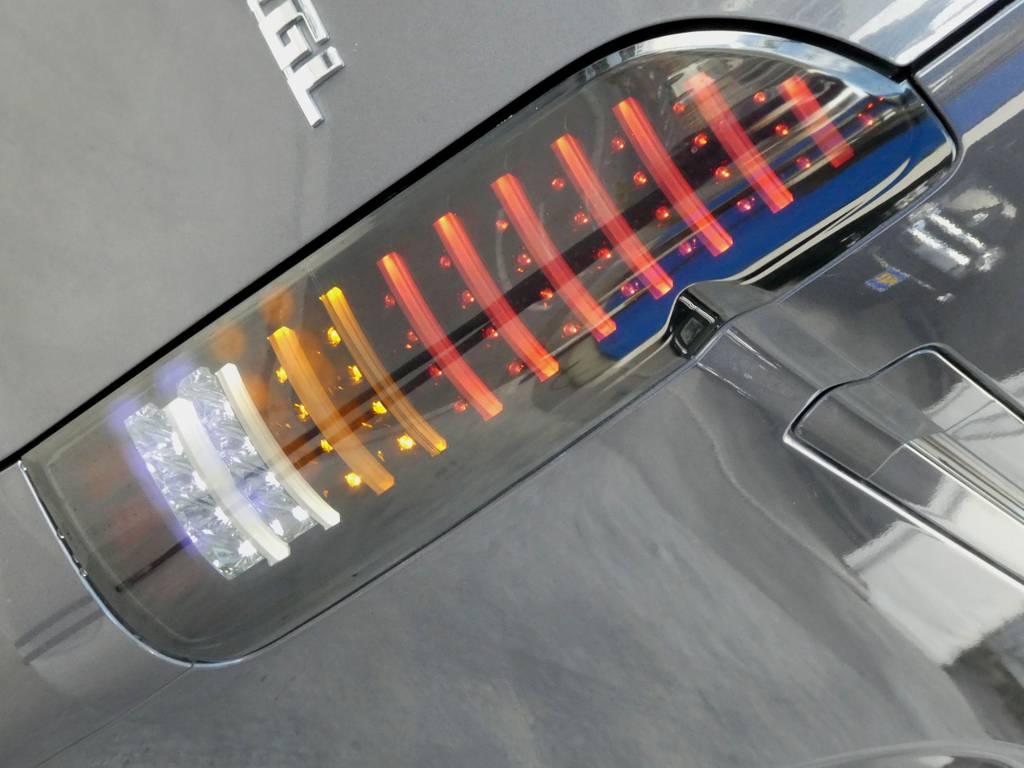 LEDチューブテールは見るものを魅了します!! | トヨタ レジアスエース 3.0 スーパーGL ロングボディ ディーゼルターボ 4WD