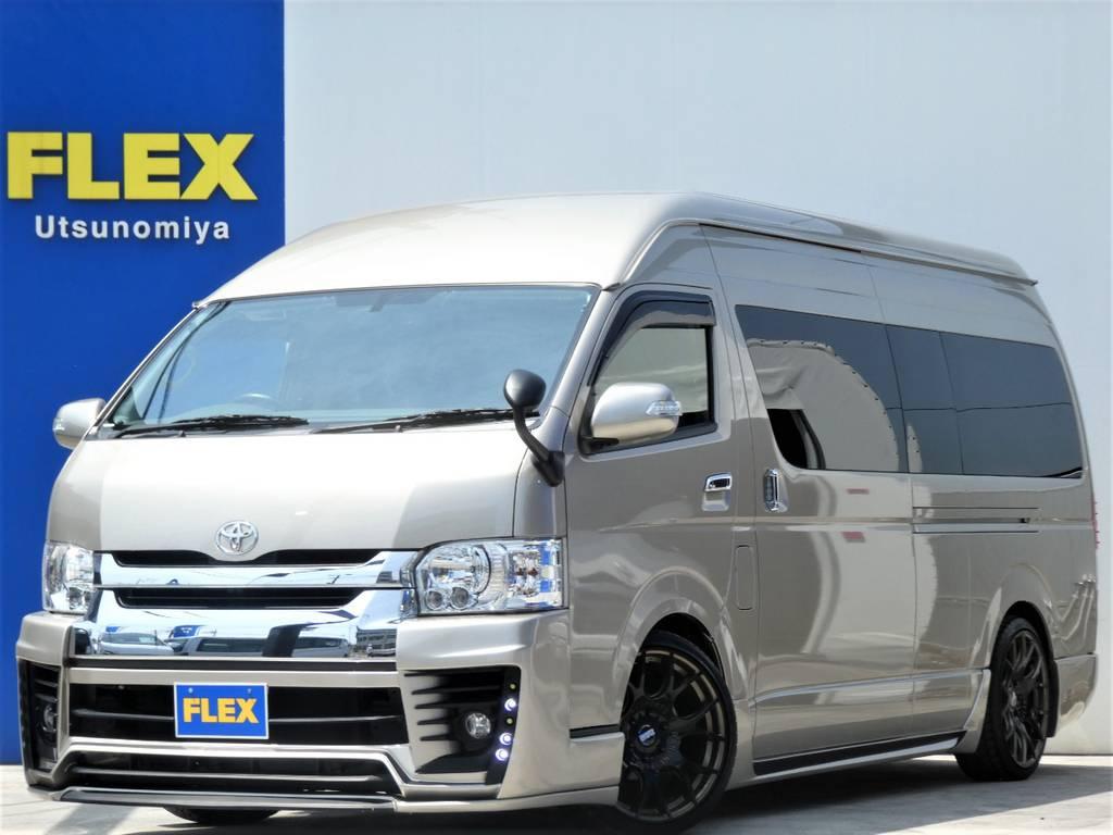 平成29年式グランドキャビンフルカスタムの車両が入庫しましたよ!!