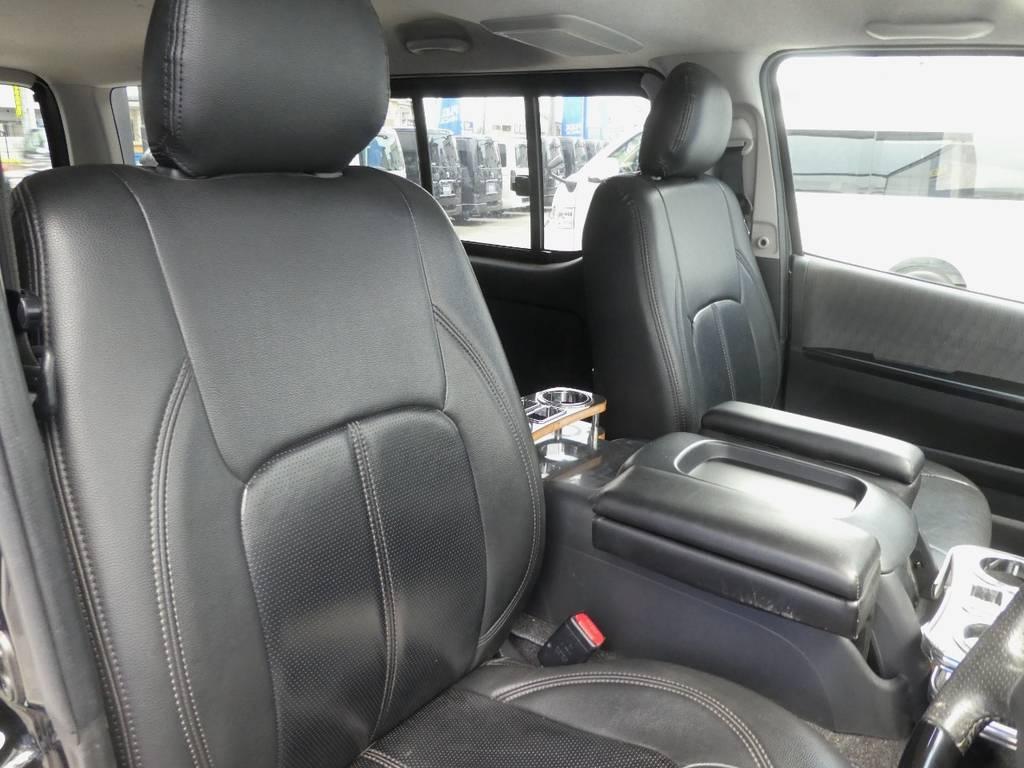 立体裁断の専用シートカバーはお手入れラクラクです!! | トヨタ ハイエースバン 3.0 スーパーGL ロング ディーゼルターボ ベットカスタム