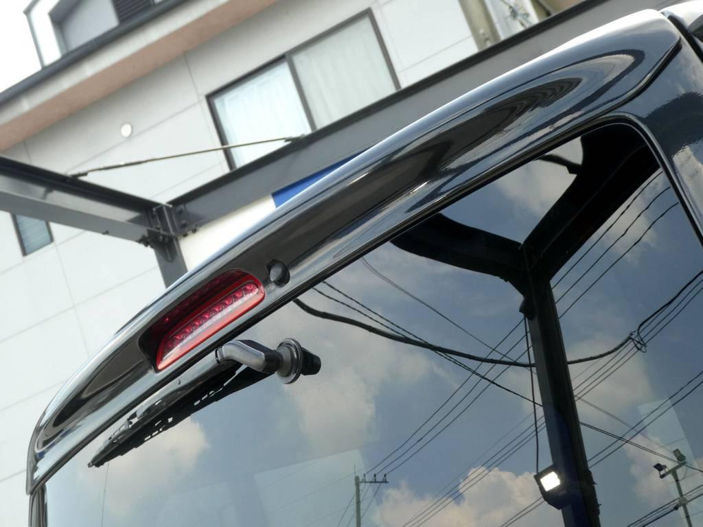 415COBRAルーフスポイラー装備!! | トヨタ ハイエースバン 3.0 スーパーGL ロング ディーゼルターボ ベットカスタム