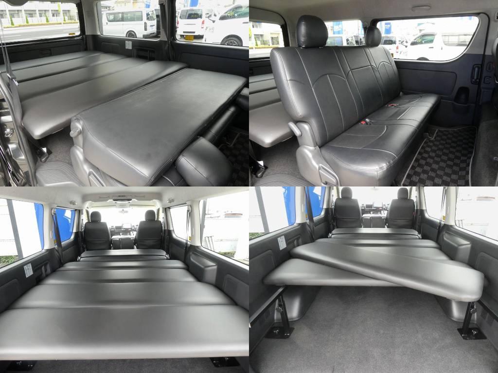 ベッドキットは高さ調整可能&1枚づつを簡単に取り外すことのできる便利なベッドキットです☆彡 | トヨタ レジアスエース 3.0 スーパーGL ワイド ミドルルーフ ロングボディ ディーゼルターボ WALDフルエアロ
