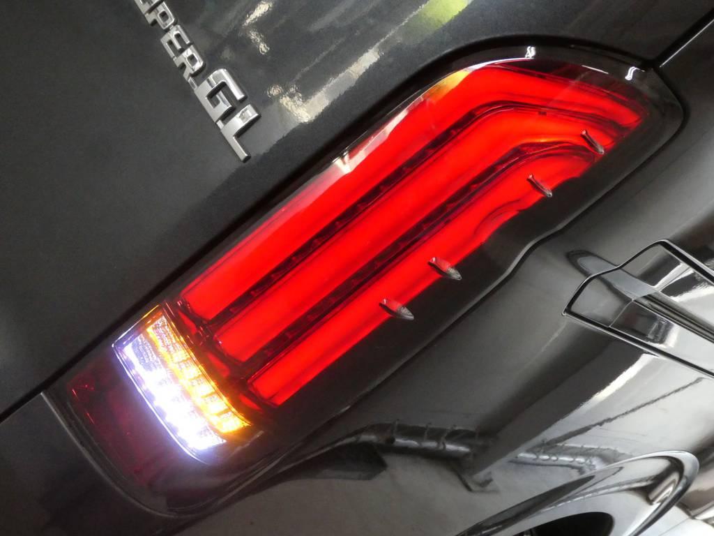 FLEXオリジナルREVOテール!ウィンカーが流れます!! | トヨタ レジアスエース 2.5 スーパーGL ロングボディ ディーゼルターボ 4WD ワイルドカスタム