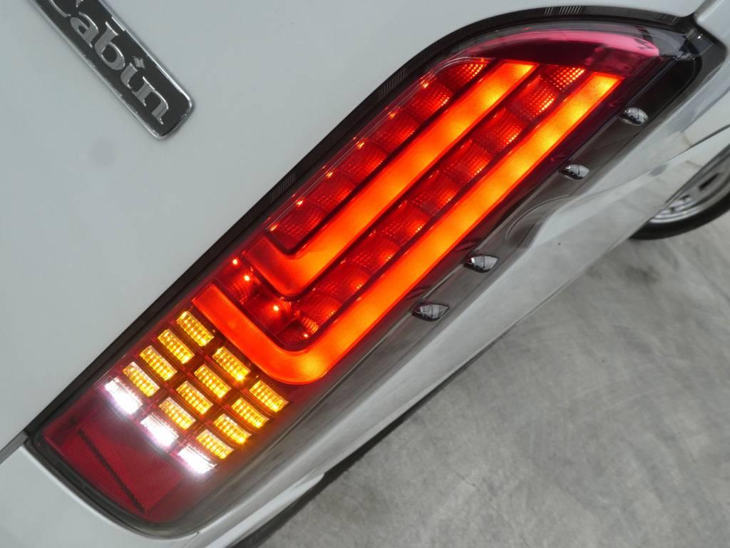 LEDテールは見るものを魅了します!!