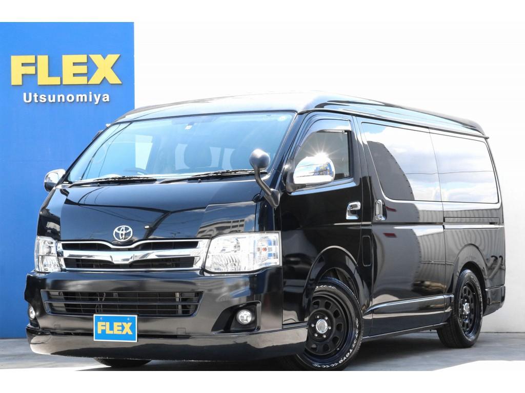平成23年式ハイエースワゴンGL  内外装フルカスタム車両が入庫いたしました!!