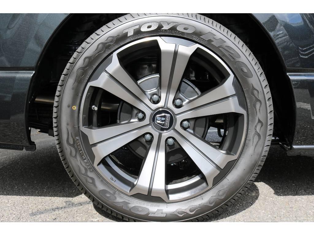 オリジナルバルベログランデ18インチ!やっぱり車は18インチじゃなきゃ!な貴方に! | トヨタ ハイエース 2.7 GL ロング ミドルルーフ TSS付