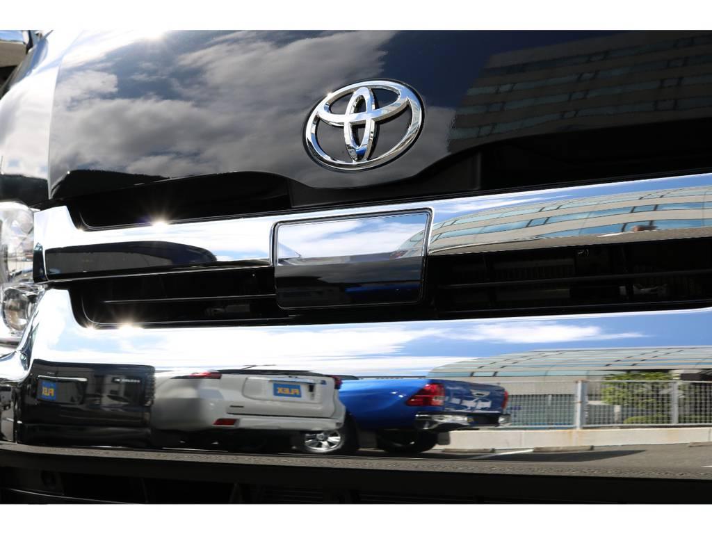 話題のTSS自動ブレーキ付き!万が一の為の安心感♪ | トヨタ ハイエース 2.7 GL ロング ミドルルーフ TSS付