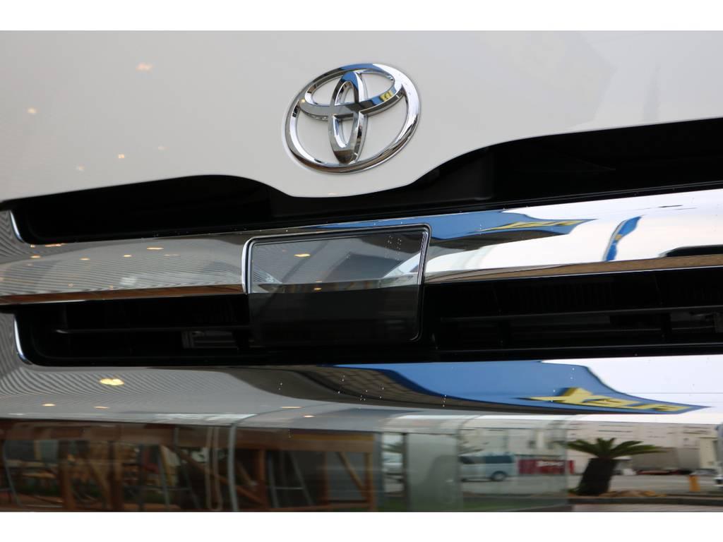 自動ブレーキ付き!! | トヨタ ハイエース 2.7 GL ロング ミドルルーフ 4WD TSS付 即納車可能 人気のナビPKG