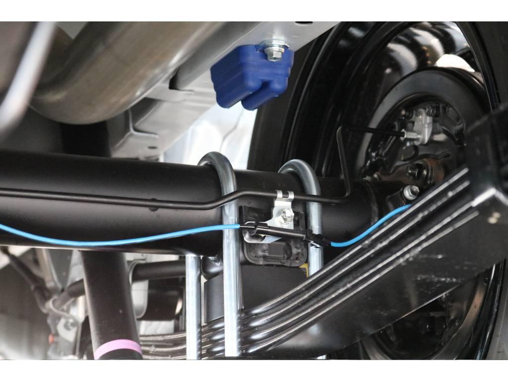 玄武 前後バンプラバー&リバウンドストップ!! | トヨタ ハイエース 2.7 GL ロング ミドルルーフ 4WD TSS付 即納車可能 人気のナビPKG