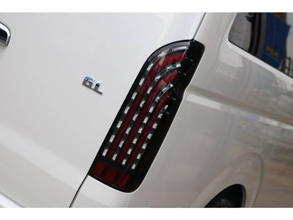 LEDテールレンズです!! | トヨタ ハイエース 2.7 GL ロング ミドルルーフ 4WD TSS付 即納車可能 人気のナビPKG