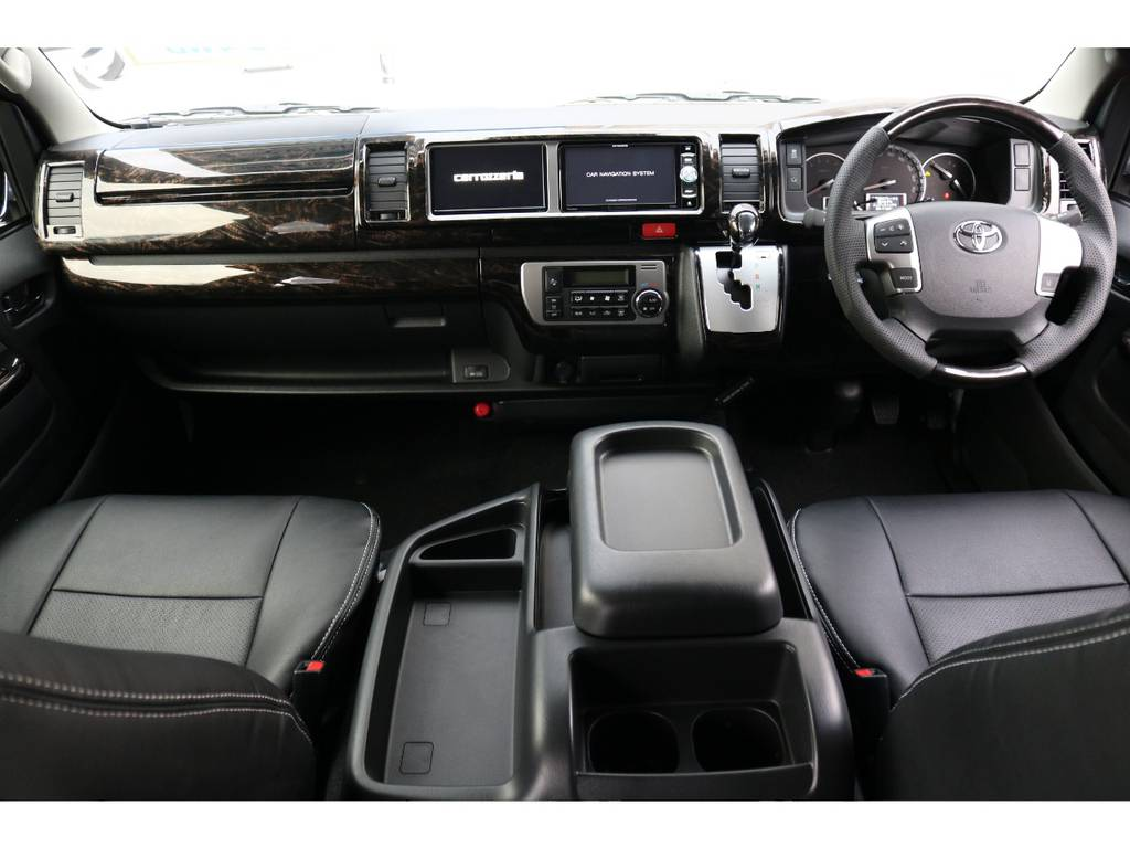 | トヨタ ハイエース 2.7 GL ロング ミドルルーフ 4WD TSS付 トリプルナビパッケージプラス