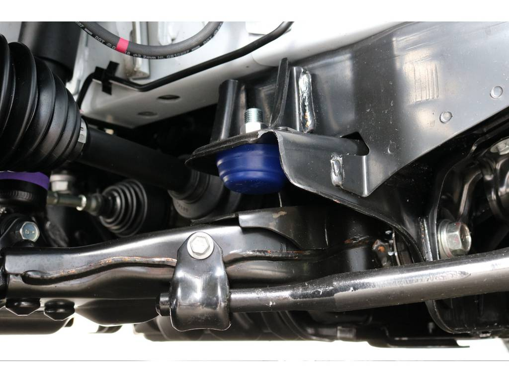玄武 前後バンプラバー&リバウンドストップ!! | トヨタ ハイエース 2.7 GL ロング ミドルルーフ 4WD TSS付 トリプルナビパッケージプラス