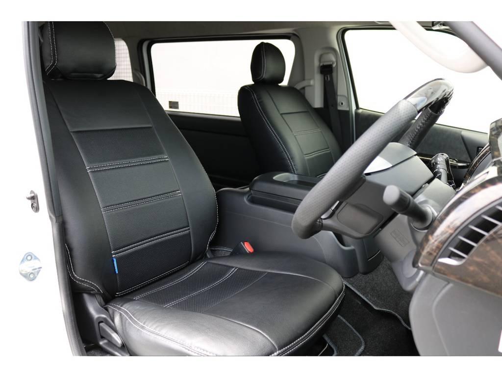 視界良好です!! | トヨタ ハイエース 2.7 GL ロング ミドルルーフ 4WD TSS付 トリプルナビパッケージプラス