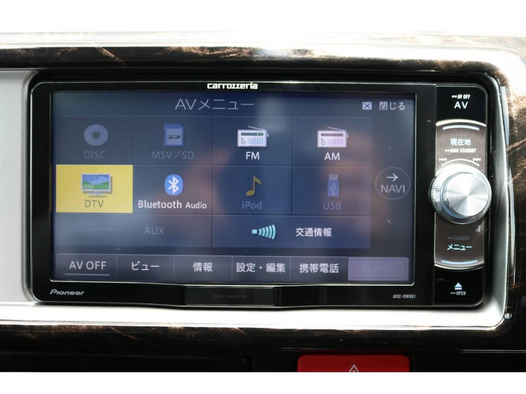カロッツェリアSDナビ装着!! | トヨタ ハイエース 2.7 GL ロング ミドルルーフ 4WD TSS付 トリプルナビパッケージプラス