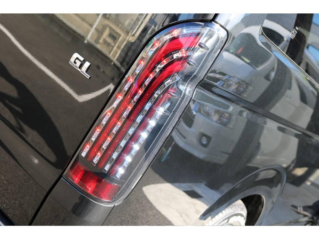フレックスオリジナルLEDテール付き!! | トヨタ ハイエース 2.7 GL ロング ミドルルーフ 4WD TSS付 内装施工 ARRANGE R1