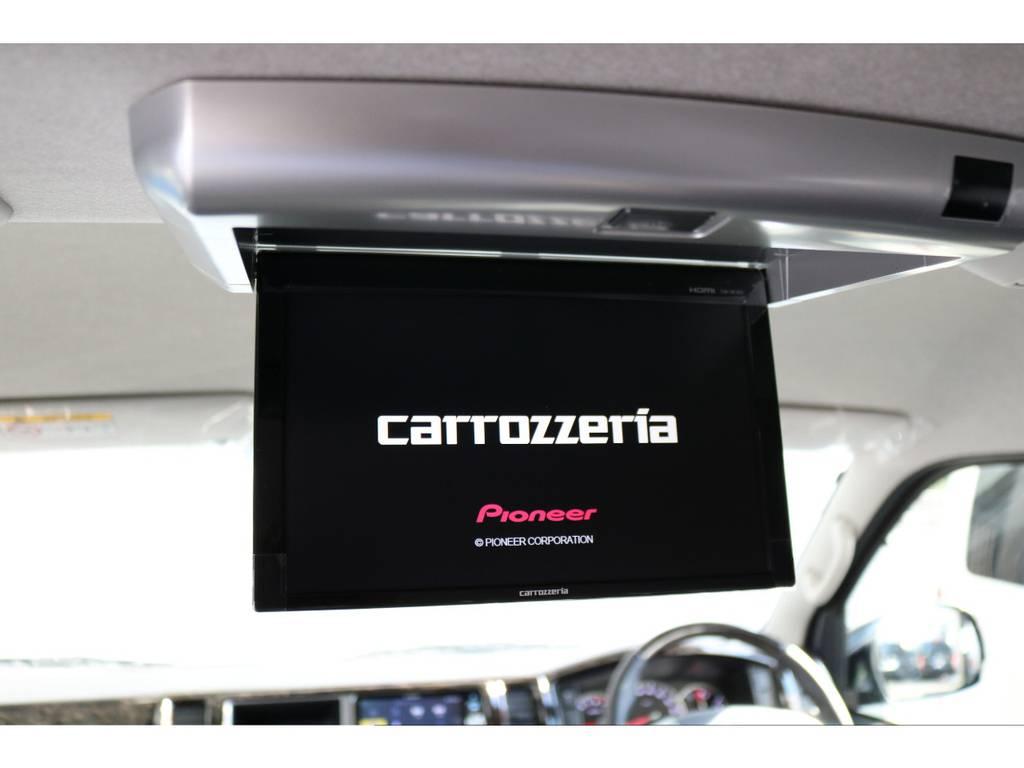 カロッツェリア フリップダウンモニター付き!! | トヨタ ハイエース 2.7 GL ロング ミドルルーフ 4WD TSS付 内装施工 ARRANGE R1