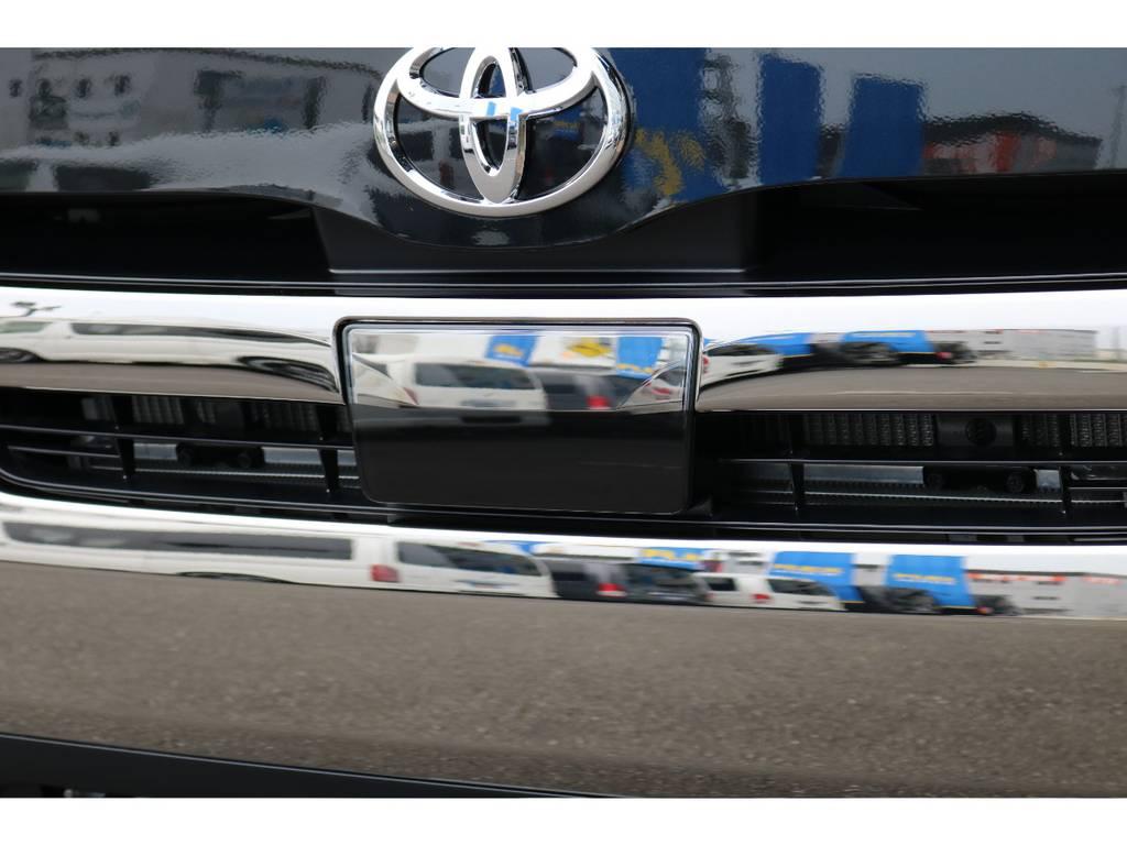 自動ブレーキ付き!!   トヨタ ハイエースバン 2.0 スーパーGL ダークプライムⅡ ロングボディ PS無