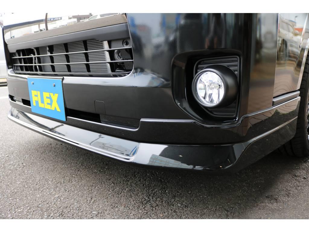 新品オリジナルフロントリップ 付き!!   トヨタ ハイエースバン 2.0 スーパーGL ダークプライムⅡ ロングボディ PS無
