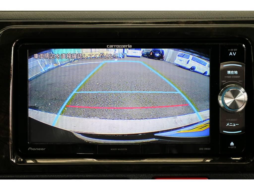 バックガイドモニターで安心ですね。   トヨタ ハイエースバン 2.0 スーパーGL ダークプライムⅡ ロングボディ PS無