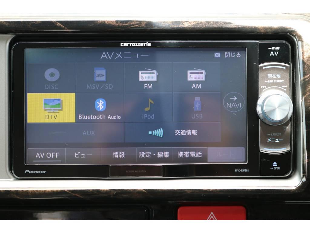 カロッツェリアSDナビ付き!! | トヨタ ハイエース 2.7 GL ロング ミドルルーフ 4WD TSS付