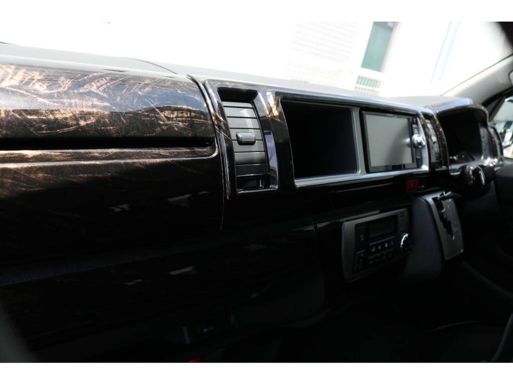 新品ケースペック マホガニー調インテリアパネル&ハンドル&シフトノブ!! | トヨタ ハイエース 2.7 GL ロング ミドルルーフ 4WD TSS付