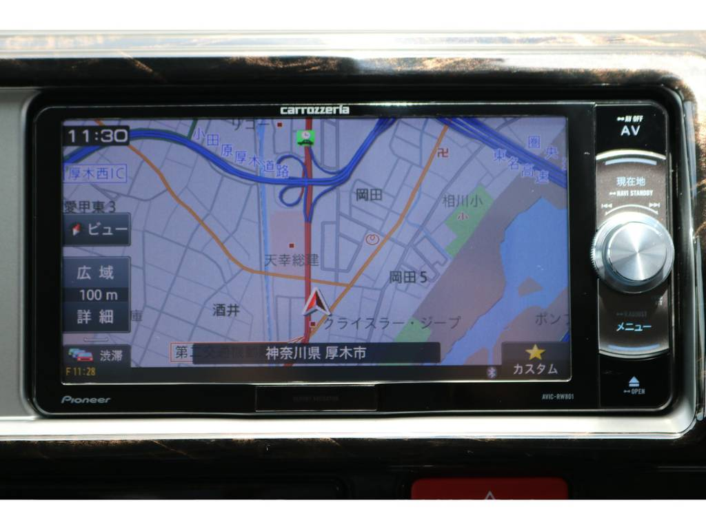 ナビももちろん新品です。 | トヨタ ハイエース 2.7 GL ロング ミドルルーフ 4WD TSS付