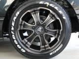 バルベロディープス17インチアルミ&グッドイヤーナスカー 17インチタイヤ装着!!