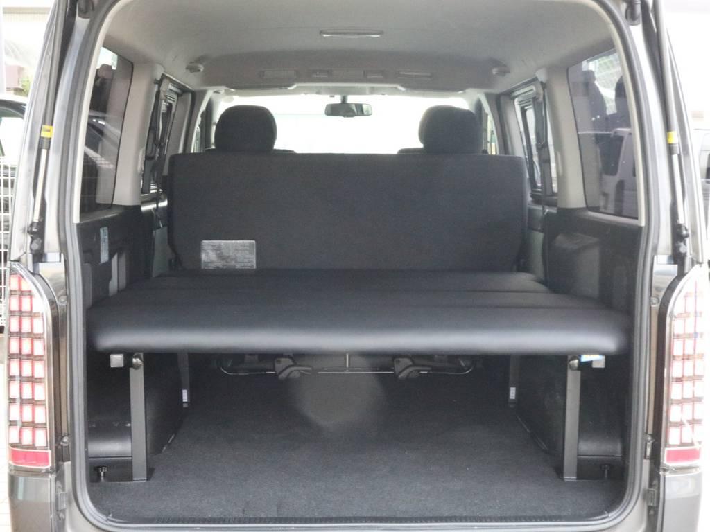 新品オリジナルベットキット付きで車中泊も可能です。 | トヨタ ハイエースバン 2.0 スーパーGL ロング 新品ベットキット
