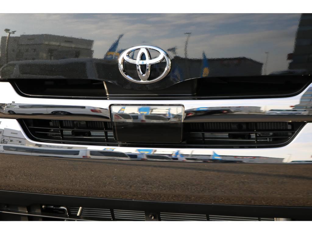 TSS自動ブレーキ付き! | トヨタ ハイエースバン 2.8 スーパーGL ダークプライムⅡ ロングボディ ディーゼルターボ PS無