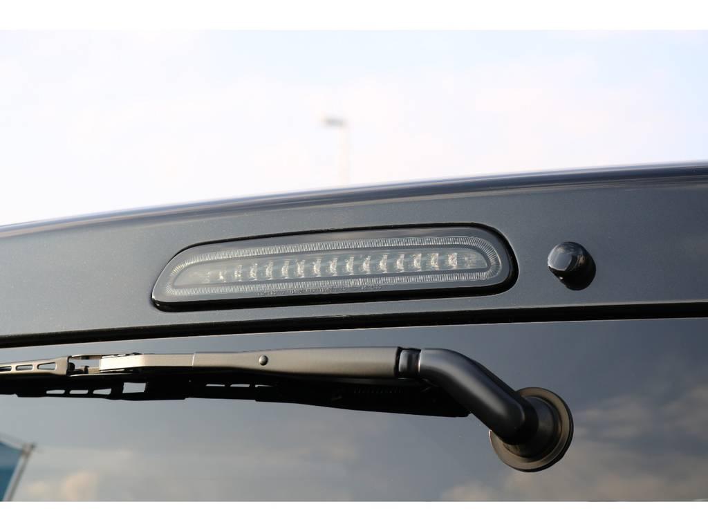 LEDハイマウントストップランプも装備! | トヨタ ハイエースバン 2.8 スーパーGL ダークプライムⅡ ロングボディ ディーゼルターボ PS無
